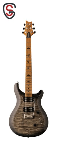 گیتار الکتریک PRS SE Custom 24 Roasted Maple Limited Charcoal Burst