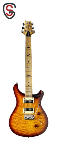 گیتار الکتریک PRS SE Custom 24 Roasted Maple Ltd Tobacco Sunburst