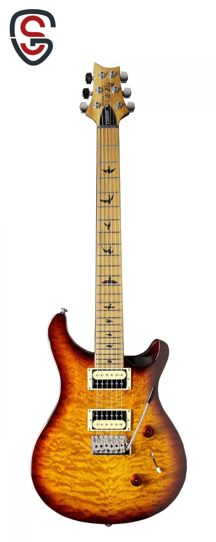 گیتار الکتریک PRS SE Custom 24 Roasted Maple Ltd Tobacco Sunburst