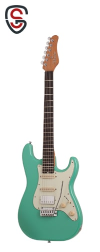 گیتار الکتریک Schecter Nick Johnston Traditional H/S/S Atomic Green