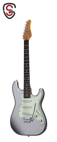 گیتار الکتریک Schecter Nick Johnston Traditional Atomic Silver