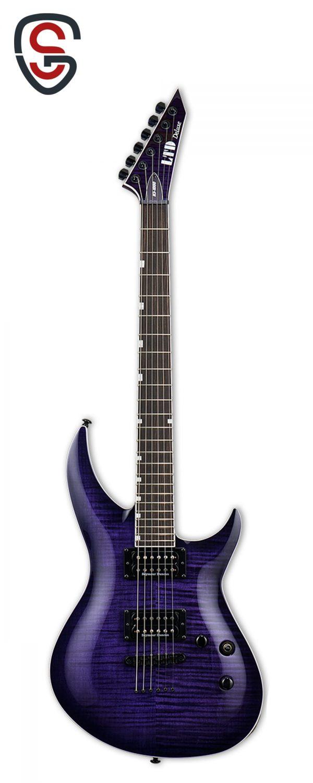 گیتار الکتریک ESP LTD H3-1000FM See thru Purple Sunburst