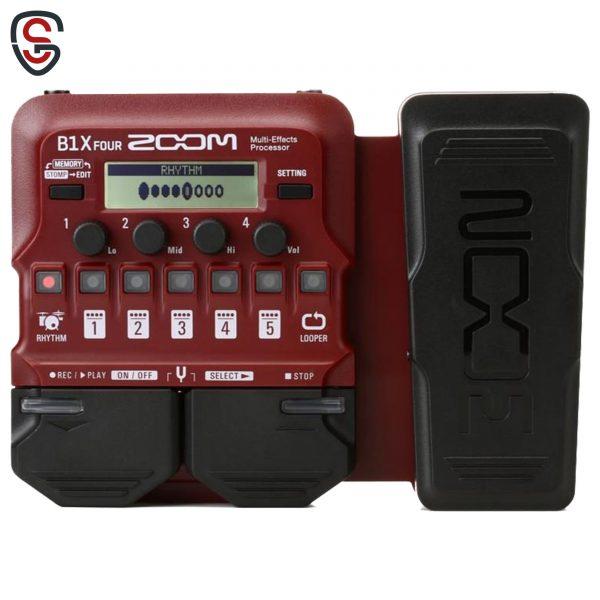 افکت گیتار الکتریک Zoom B1X Four